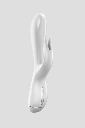 Vibratore Rabbit OVO K3 20cm Bianco
