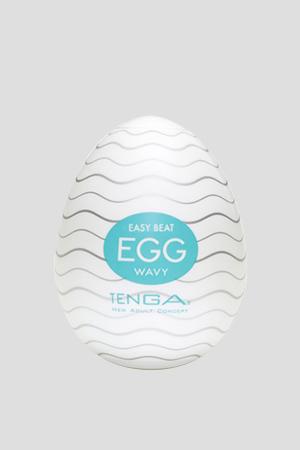 Masturbatore TENGA Egg Wavy