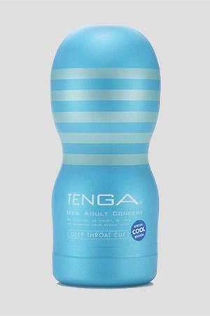 Masturbatore TENGA Deep Throat Cool Edition