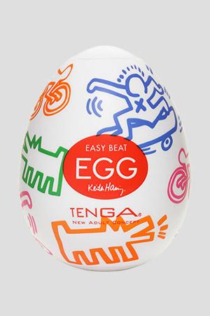 Masturbatore TENGA Egg Street Keith Haring