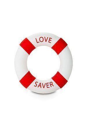 Anello Fallico Buoy Love Saver Diam 3cm Rosso