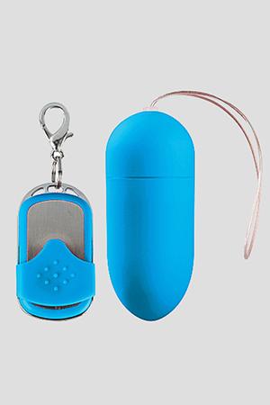 Ovulo Wireless 10 Modalità di Vibrazione Big Azzurro