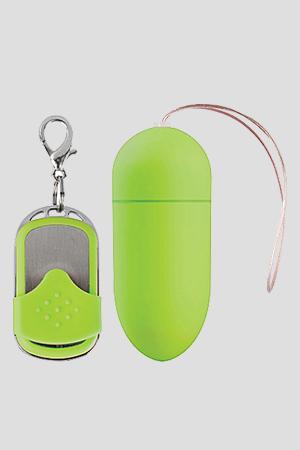 Ovulo Wireless 10 Modalità di Vibrazione Big Verde