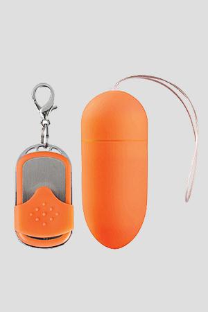 Ovulo Wireless 10 Modalità di Vibrazione Big Arancione