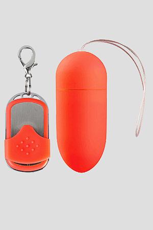 Ovulo Wireless 10 Modalità di Vibrazione Big Rosso