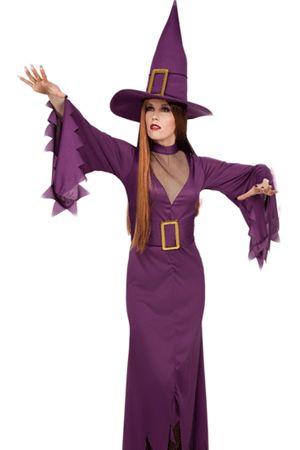 Costume Sexy da Strega Viola
