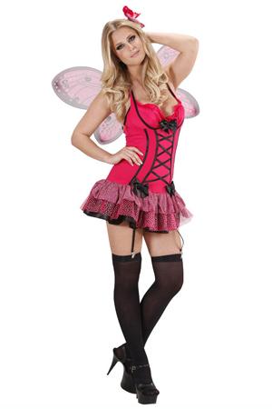 Costume Sexy Farfalla Fucsia