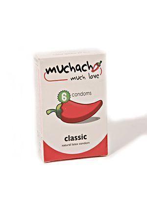 Profilattici Classici Muchacho 6 Pezzi
