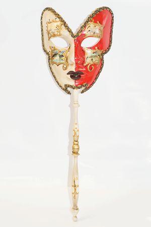 Maschera Veneziana con Manico